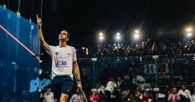 صورة اليوم| نهائي مصري في بطولة مصر الدولية للأسكواش