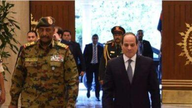 صورة رئيس المجلس السيادي السوداني عبد الفتاح البرهان يزور القاهرة اليوم