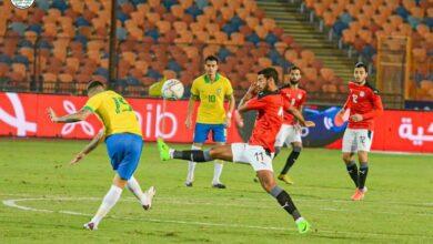 صورة منتخب مصر الأوليمبي يفوز بثنائية و يتفوق على منتخب البرازيل