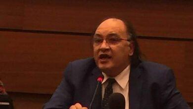 صورة حافظ أبو سعدة عضو المجلس القومي لحقوق الإنسان في زمة الله