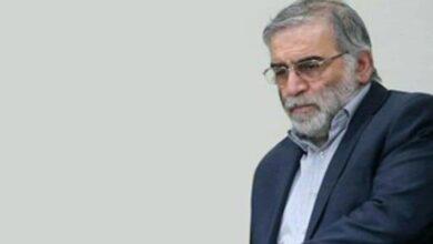 صورة إستشهاد العالم الإيراني محسن فخري زادة