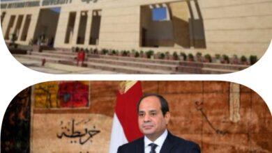 صورة سيادة الرئيس عبد الفتاح السيسي يشهد أفتتاح جامعة الملك سلمان ومتحف المركبات الملكية بشرم الشيخ