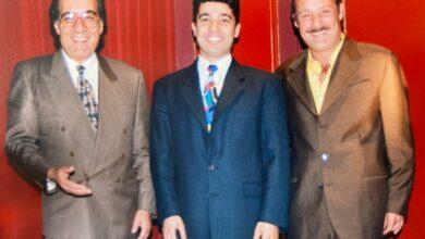 صورة تعرف على رسالة خالد النبوى لمحمود ياسين