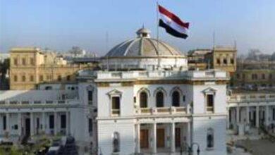 """صورة بدء الجلسة الافتتاحية لمجلس النواب برئاسة النائبة """"فريدة الشوباشي"""""""