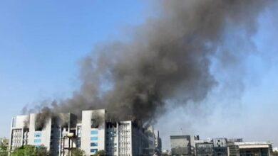 صورة عاجل: اندلاع حريق في أكبر معهد لانتاج اللقاحات في العالم بالهند