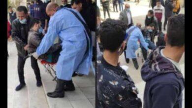 """صورة إعدام وزير التعليم العالي، أم إعدام الطُلاب """"لكم الحُكم"""""""