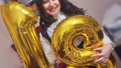 صورة مادونا عادل تهنئ مريم مكرم بعيد ميلادها